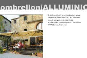 OMBRELLONI IN ALLUMINIO - Roma