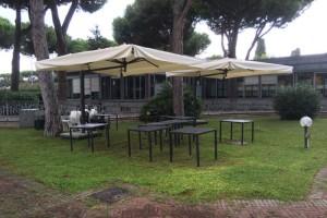 OMBRELLONI IN FERRO - Roma