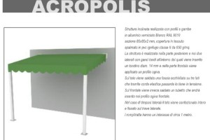 PENSILINA GAZEBO ACROPOLIS - Roma