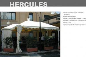 GAZEBO HERCULES - Roma