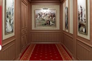 CORSIE E PASSATOIE PER SCALE IN MOQUETTE PER AMBASCIATE E HOTEL - Roma