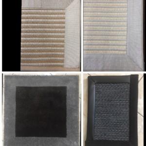 Realizzazione tappeti personalizzati in moquette vari modelli - Roma